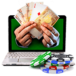 Online Cash Games auf Internet Pokerseiten
