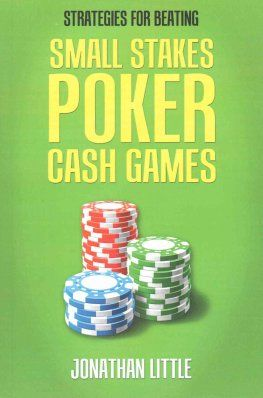 Small Stakes Poker Cash Game - Jonathan Little