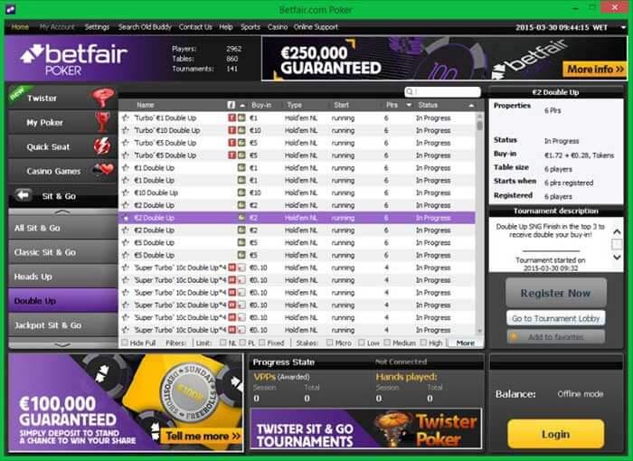 Bet Fair Poker