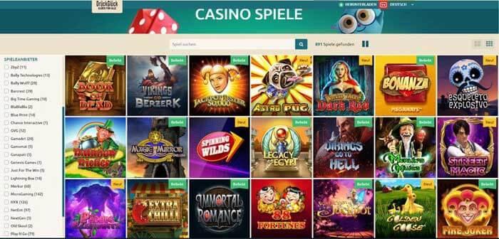 Druckgluck Casino Erfahrungen