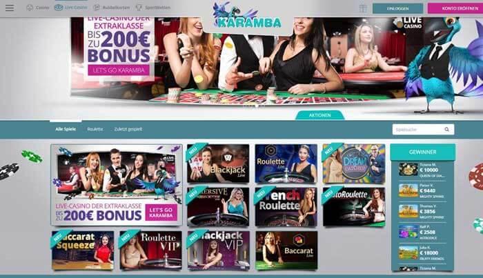 Karamba Online Casino Erfahrungen