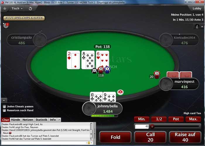 Pokerstars erfahrungen 2019 testbericht 500 bonus for Pokerstars tisch design